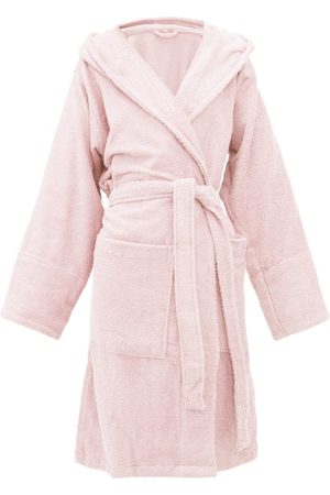 Tekla Hooded Cotton-terry Bathrobe