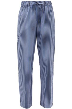 Tekla Striped Organic-cotton Pyjama Trousers