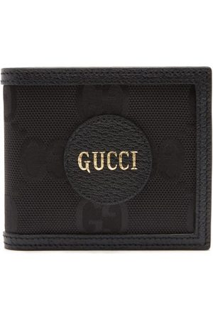 Gucci Logo-patch Large Gg-canvas Bifold Wallet