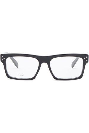 Céline Flat-top Rectangular Acetate Glasses