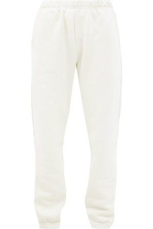 Les Tien Brushed-back Cotton Track Pants