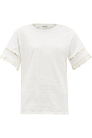 Moncler Logo-trimmed Cotton-jersey T-shirt