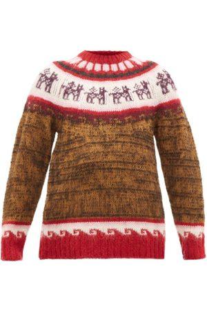 Miu Miu Alpaca-jacquard Sweater