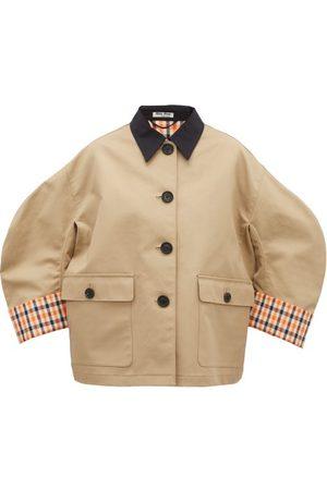 Miu Miu Cotton-canvas Jacket