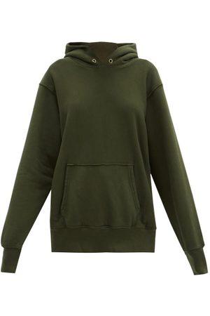 Les Tien Brushed-back Cotton Hooded Sweatshirt