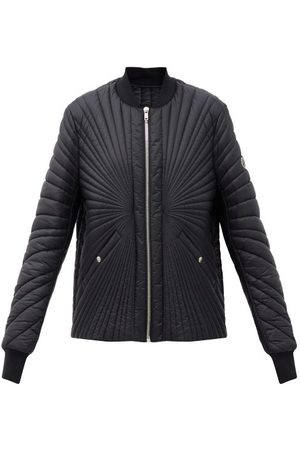 Moncler + Rick Owens Radiance Logo-patch Quilted Down Jacket