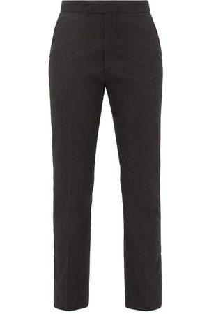 RAF SIMONS Ankle-zip Straight-leg Twill Trousers