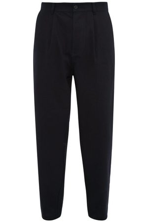 Raey Wide-leg Pleated Cotton Trousers