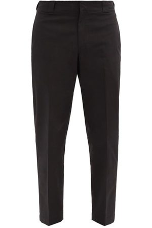 Prada Triangle Logo-plaque Nylon-gabardine Trousers