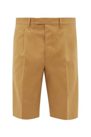 Prada Cotton-twill Chino Shorts