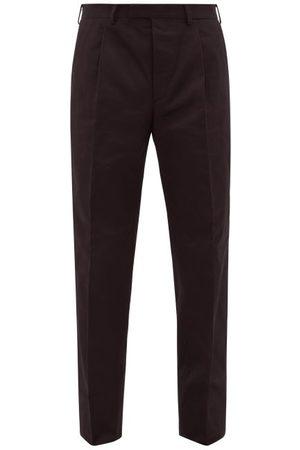 Prada Cotton-twill Chino Trousers