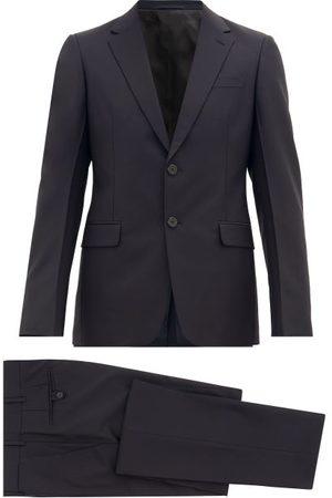 Prada Single-breasted Wool-blend Crepe Suit