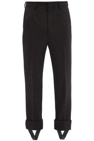 Prada Detachable-stirrup Gabardine Trousers