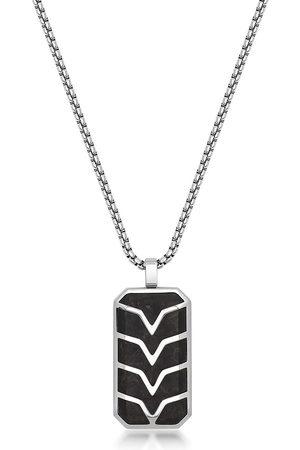 Nialaya Herren Halsketten - Halskette mit Erkennungsmarke