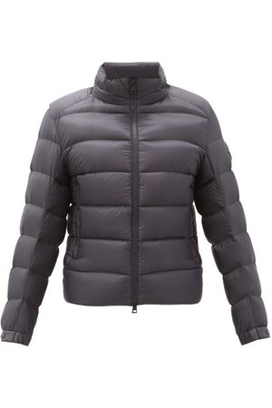 Moncler Logo-patch Hooded Quilted Down Jacket