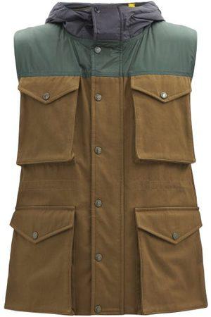 1 MONCLER JW ANDERSON Dunrobin Multi-pocket Cotton-canvas Down Gilet