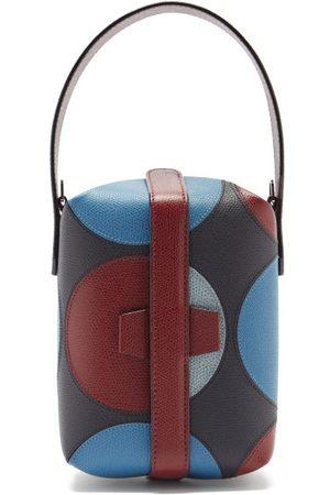 Valextra X La Double J Tric Trac Leather Bag