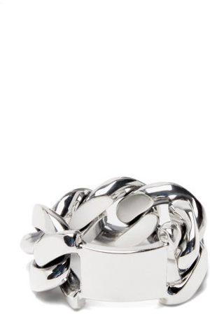 Bottega Veneta Curb-link Sterling-silver Ring
