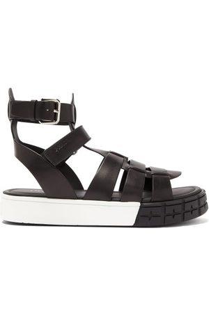 Prada Tyre-sole Leather Sandals