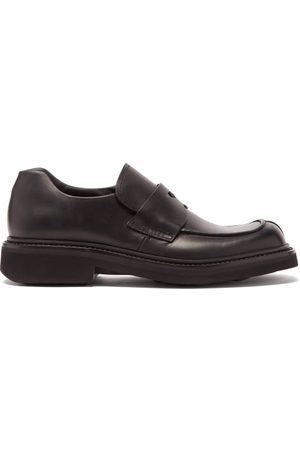 Prada Chunky-sole Leather Loafers