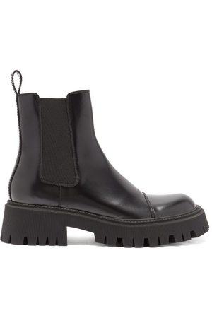 Balenciaga Tractor Trek-sole Leather Chelsea Boots