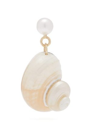 Nadia Shelbaya Ningyo Pearl, Shell & Single Earring
