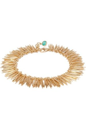 Ileana Makri Grass Leaves 18kt Bracelet