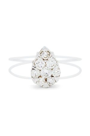 PERSÉE Floating Diamond & 18kt Ring