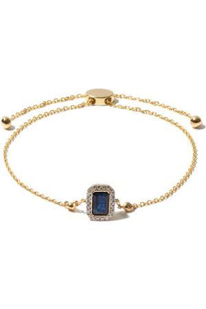 Anissa Kermiche September Diamond, Sapphire & 14kt Bracelet