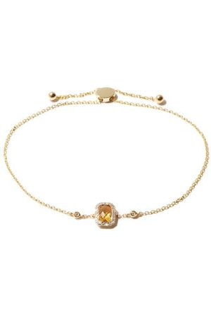 Anissa Kermiche November Citrine, Diamond & 14kt Bracelet