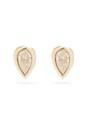 Zoe Chicco Diamond & 14kt Stud Earrings