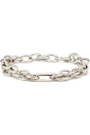Lauren Rubinski Mixed Chain-link 14kt White- Bracelet