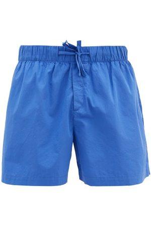 Tekla Drawstring-waist Cotton-poplin Pyjama Shorts