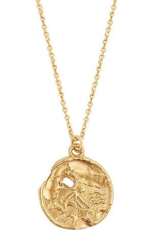 Alighieri Aquarius 24kt -plated Necklace
