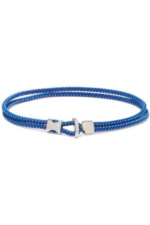 MIANSAI Orsan Rope-cord And Sterling-silver Bracelet