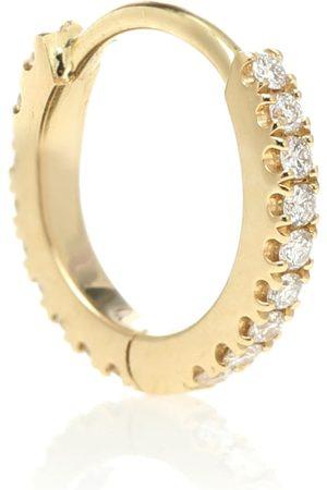 Maria Tash Einzelner Ohrring Eternity aus 18kt Gelbgold mit Diamanten