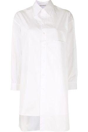 YOHJI YAMAMOTO Damen Blusen - Asymmetrisches Oversized-Hemd