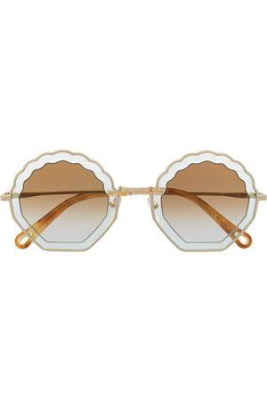 Chloé Sonnenbrille mit runden Gläsern