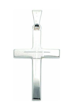 Adelia's Adelia´s Damen & Herren Silberschmuck 925 Silber Kreuz Anhänger, onesize, onesize
