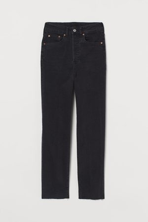 H&M Damen Baggy & Boyfriend - Mom High Ankle Jeans