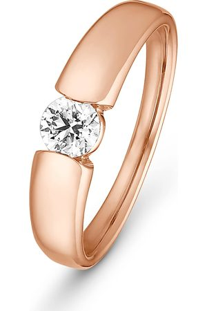 CHRIST Diamonds Damen-Damenring 1 Diamant '