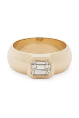 Zoë Chicco Diamond & 14kt Wide-band Ring