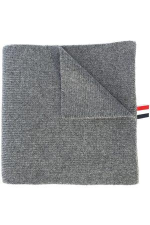 Thom Browne Herren Schals - Kaschmirschal mit Logo-Streifen