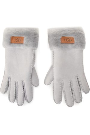 UGG W Turn Cuff Glove 17369 Light Grey