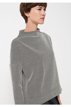 Someday Sweatshirt »Ubalda« mit hoch geschlossenem Ausschnitt