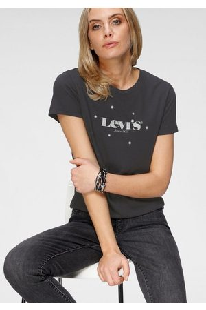 Levi's Rundhalsshirt »The Perfect Tee« mit Glitzer-Print
