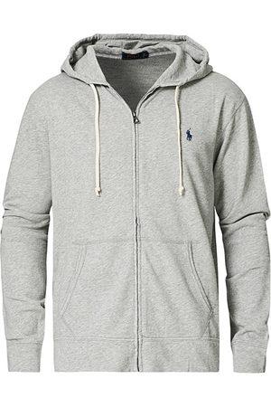 Polo Ralph Lauren Herren Sweatshirts - Full Zip Hoodie Light Grey Heather