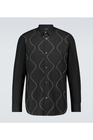 Comme des Garçons Besticktes Hemd aus Baumwolle