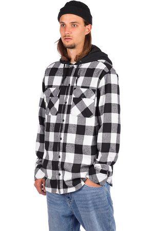 Empyre Herren Freizeit - Prime Hooded Flannel Shirt