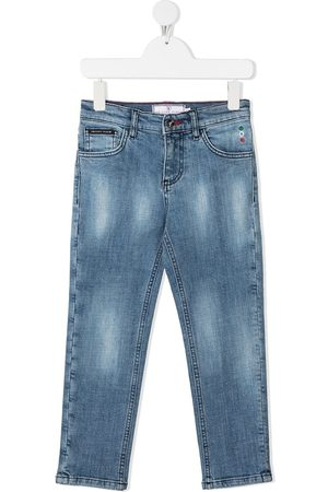 Philipp Plein Gerade 'Iconic Plein' Jeans
